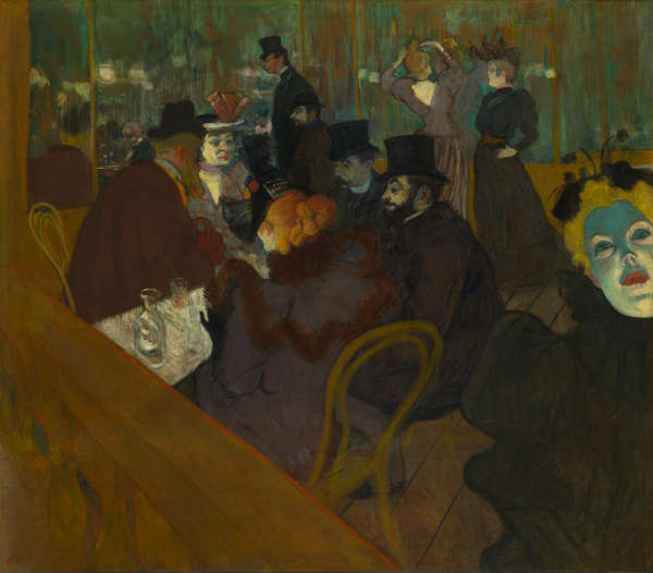 Autoportet Tuluz-Lotreka, By Henri de Toulouse-Lautrec - pAGg8GwiHleSkA at Google Cultural Institute maximum zoom level, Public Domain, https://commons.wikimedia.org/w/index.php?curid=21909181
